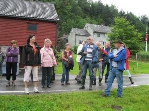 Leder i Ullensvang BS Arne Lofthus forteller