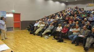 Lesjamøtet 2011 mange tilhørere